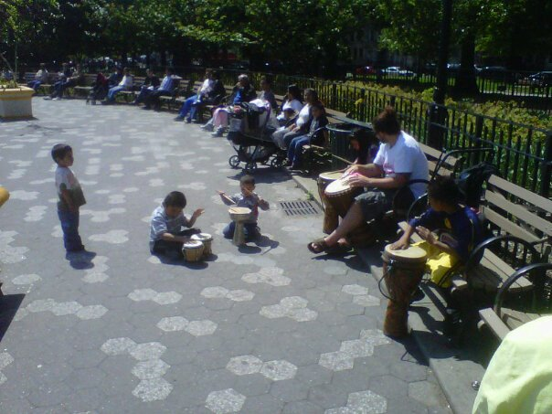 Bushwick Community Drum Circle- ON FOR MOTHERS DAY!