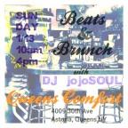 Sunday 1/13- Beats & Brunch at Queens Comfort