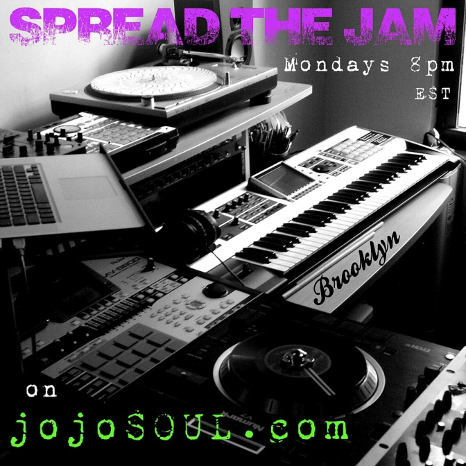 2/25/13-Spread the JAM: RG and jojoSOUL LIVE from Brooklyn!