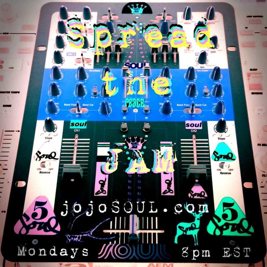 SpreadtheJAM: RG and DJ jojoSOULLIVE