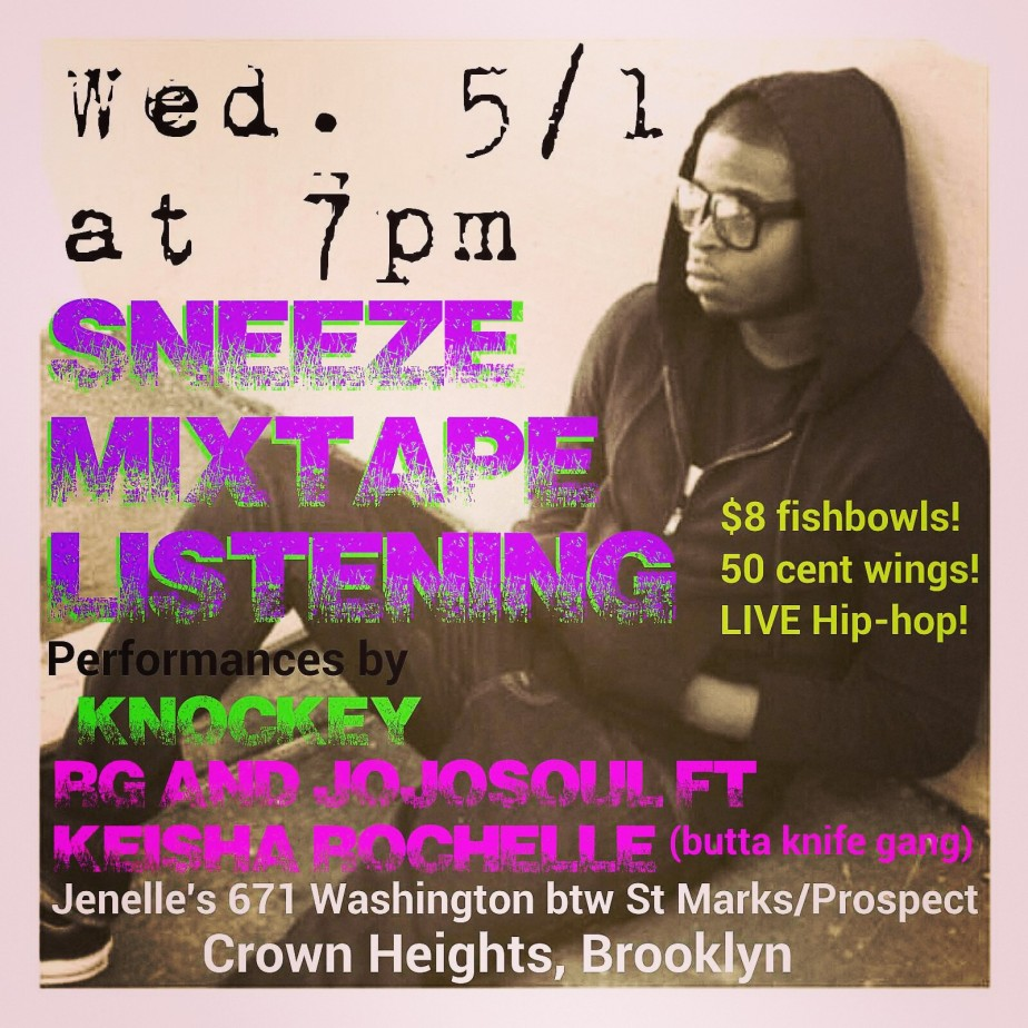 5/1: LIVE Hip-hop in theHeights!