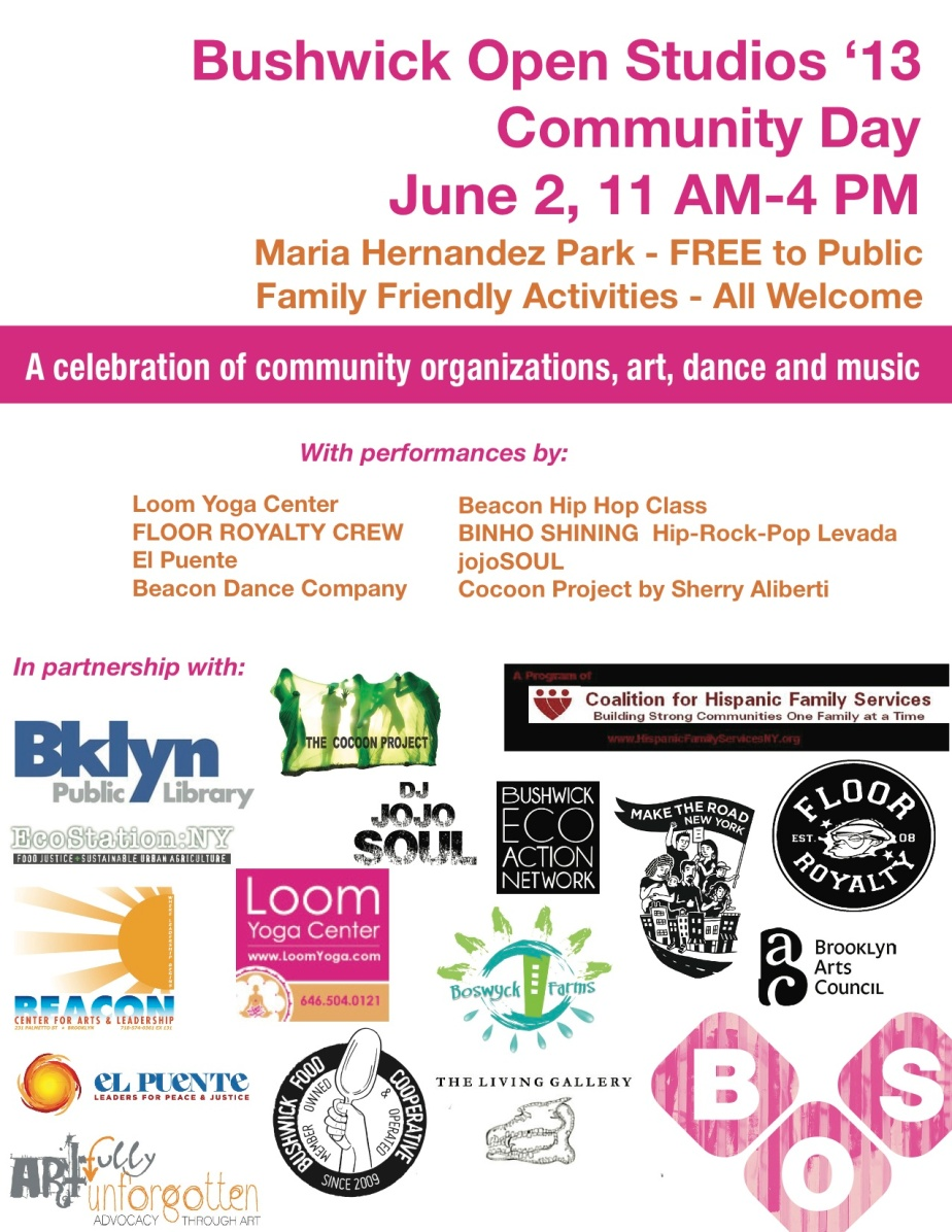Spread the word! Official Flyer for BOS'13 CommunityDay