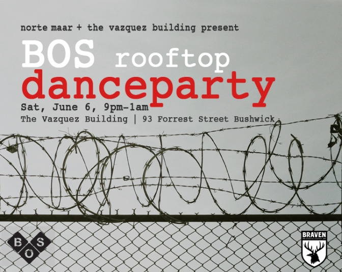 BOS rooftop danceparty at The Vazquez Building