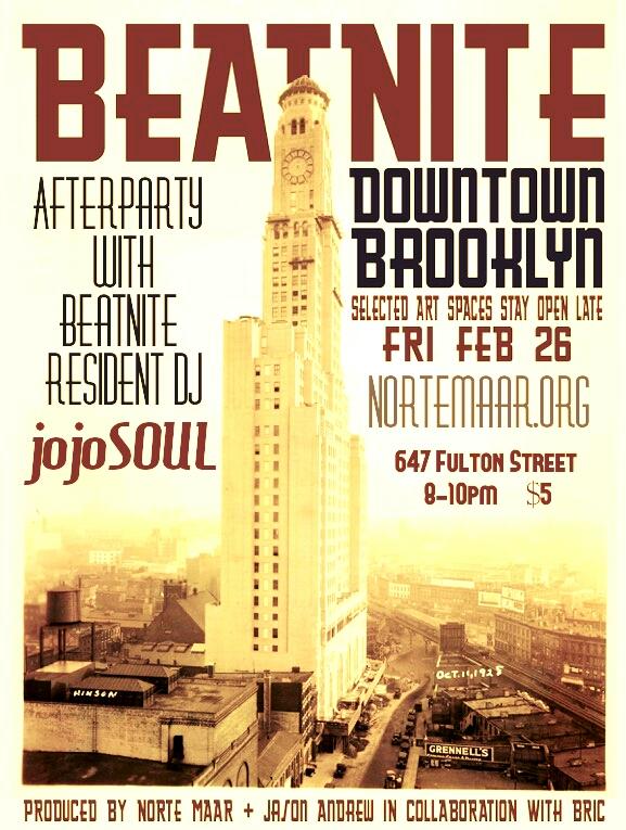 2/26/16: BeatNite DowntownBrooklyn