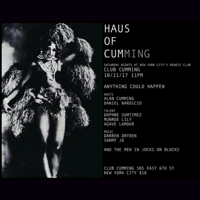 10/21/17- Haus of Cumming with Agave L'amour