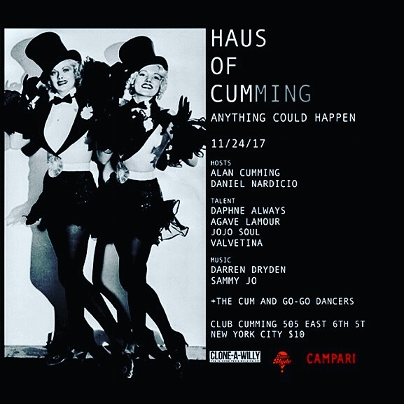 11/24/17: Live Trio with Daphne Always and Agave L'amour at Haus of Cumming