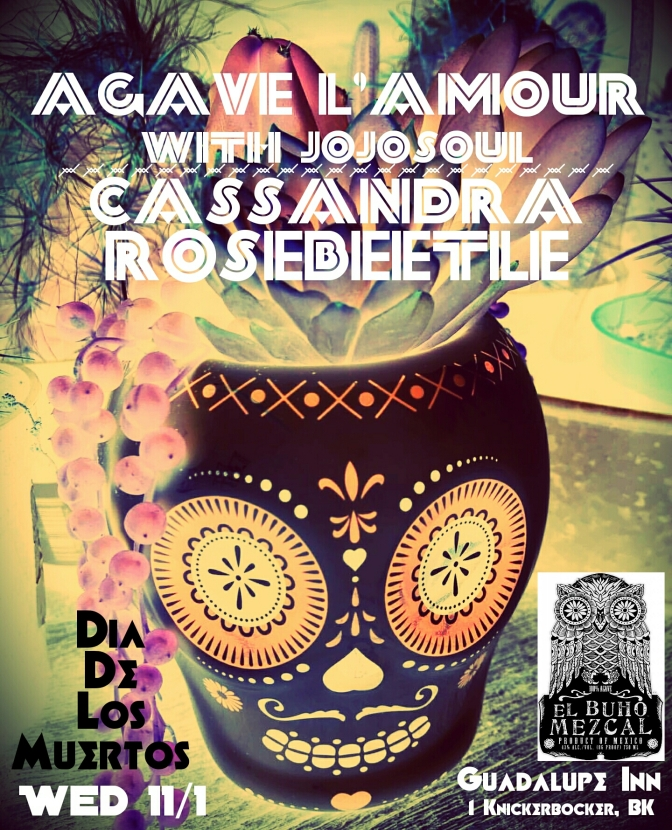 11/1/17- Dia De Los Muertos with El Buho at Guadalupe Inn