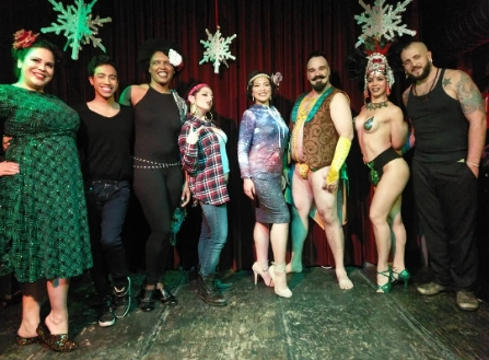 12/14/17- Butter Pecan Burlesque at Parkside Lounge!