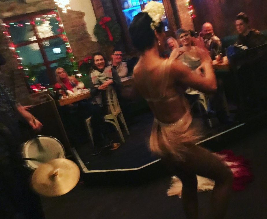 12/31/17- Burlesque and Drums at Dromedary Bar NYE with CuttySark!