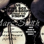 1/15/18- Marc Smith Music LIVE at Pine Box Rock Shop